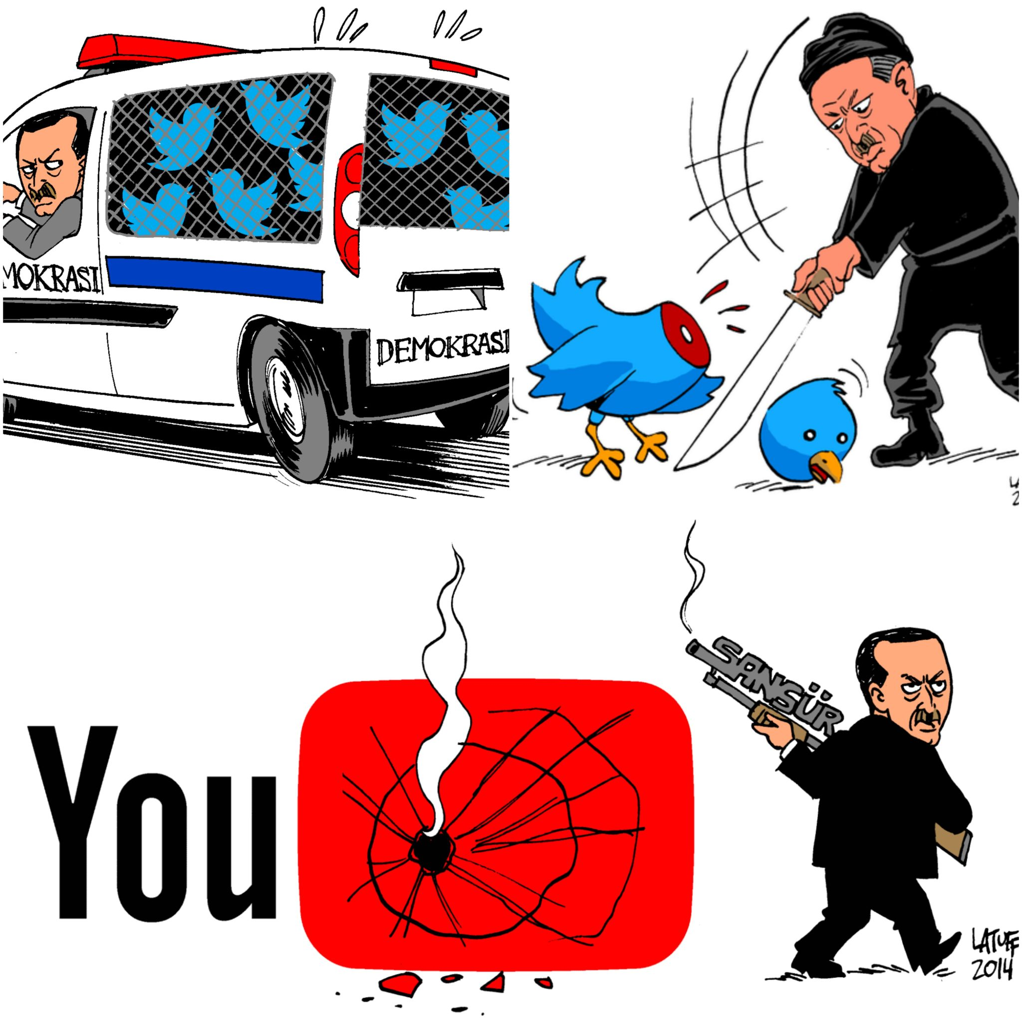 5dd3316433f Νέο «μπλακ άουτ» στις σελίδες κοινωνικής δικτύωσης στην Τουρκία ...