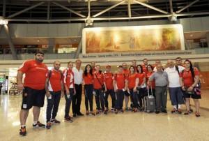 Η 1η αποστολή της Αρμενίας στο Ρίο.